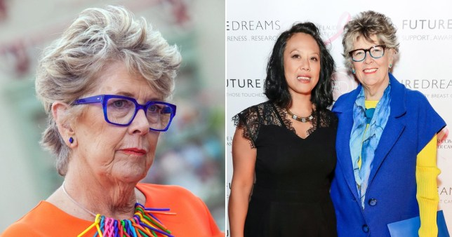 Prue Leith and her adopted daughter Li-Da