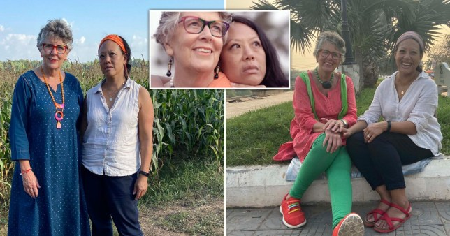 Prue Leith and daughter
