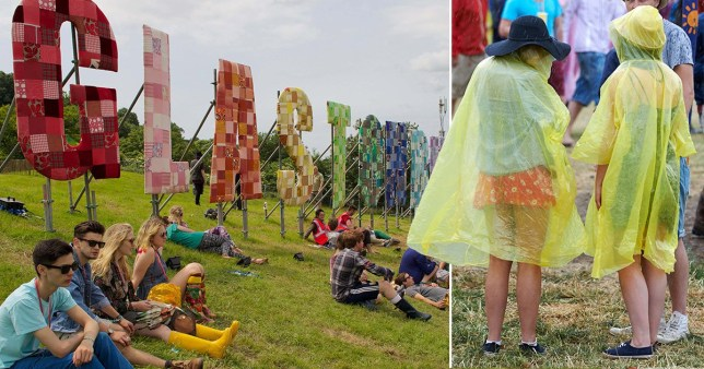 glastonbury ponchos