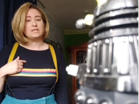 Doctor Who fans recreate favourite iconic moments in coronavirus lockdown