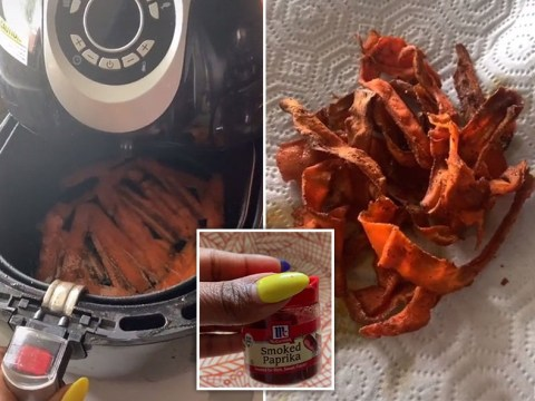 Make 'bacon' from carrots with this viral TikTok tutorial