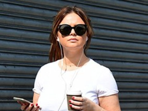 Emily Atack displays her slimmer figure during stroll around London amid lockdown