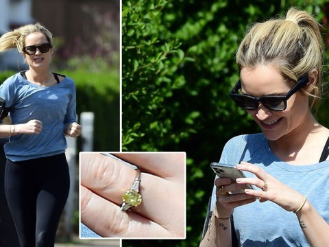 Laura Whitmore sparks Iain Stirling engagement rumours with sparkling jewel on her ring finger