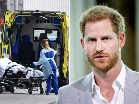 Prince Harry claims coronavirus crisis is 'better than we are led to believe'