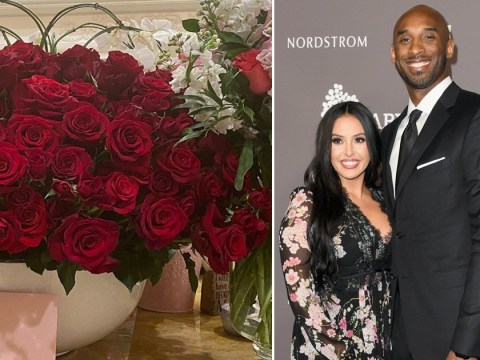 Vanessa Bryant receives beautiful flowers 'from Kobe' on their 19th wedding anniversary