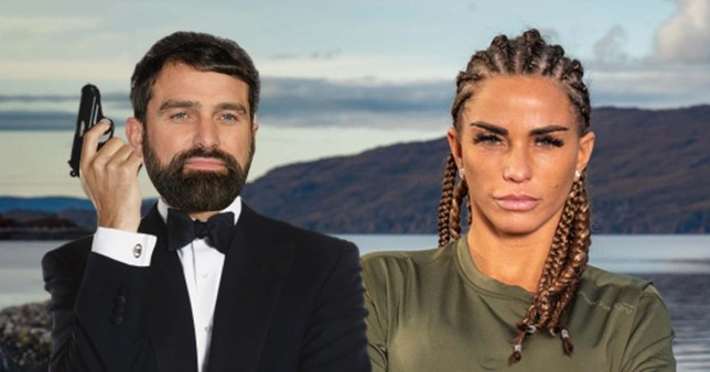 Katie Price wants Ant Middleton as the next James Bond (embargoed until midnight)