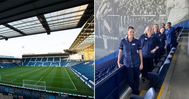 Baggies to babbies: West Brom convert stadium into maternity clinics