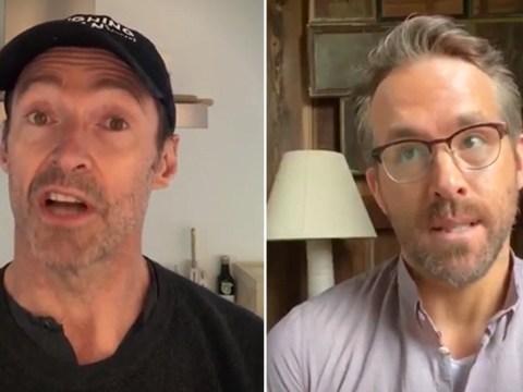Ryan Reynolds and Hugh Jackman put 'feud on hold' to raise money for coronavirus relief