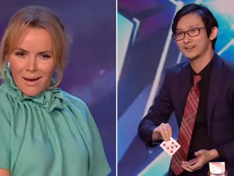 Britain's Got Talent's Amanda Holden stunned by time-travel card trick in unseen clip