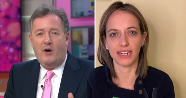 piers clashes with minsiter