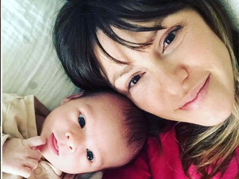 The Young and The Restless star Elizabeth Hendrickson's baby daughter makes her TV debut