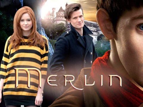Matt Smith and Karen Gillan were almost cast in Merlin years before Doctor Who fame