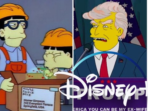 Disney Plus launches The Simpsons collection for episodes that predicted future events