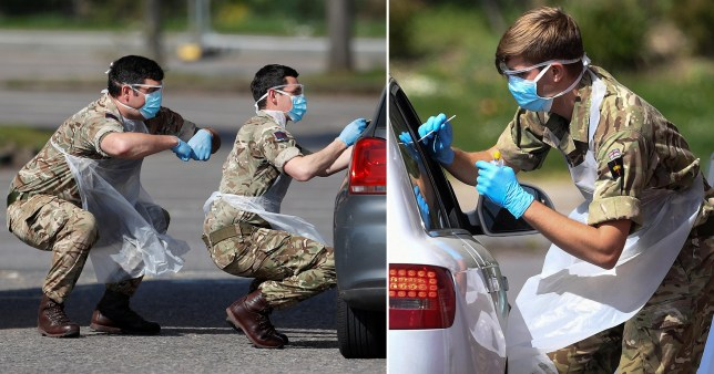 Armed Forces to run mobile coronavirus testing units across UK