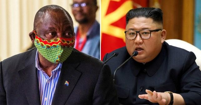 Kim Jong-un sends message to South Africa despite death rumours