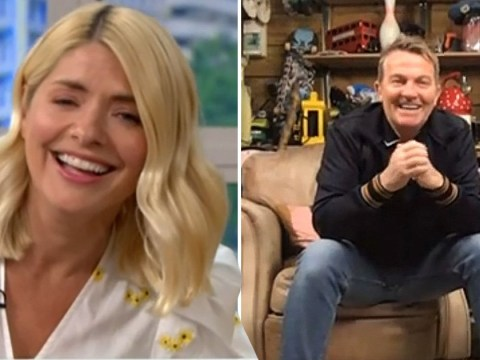 Bradley Walsh left in stitches as he prank calls Holly Willoughby live on This Morning