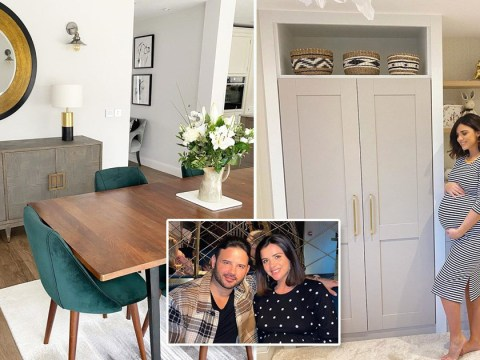 Inside Lucy Mecklenburgh and Ryan Thomas' house where they're self-isolating with baby Roman