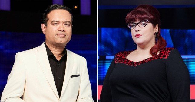 Paul Sinha Jenny Ryan The Chase