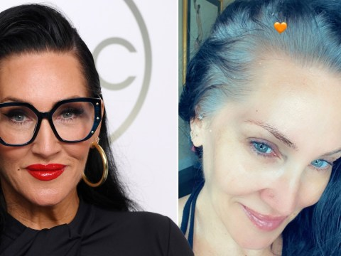 Michelle Visage torn about dyeing incredible grey roots as fans beg her to keep it natural