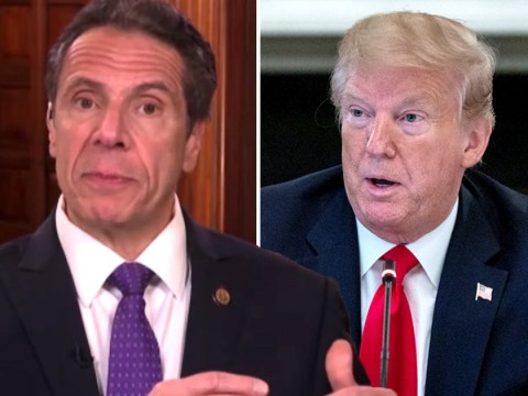 New York Governor Andrew Cuomo admits he doesn't have a 'warm relationship' with President Trump