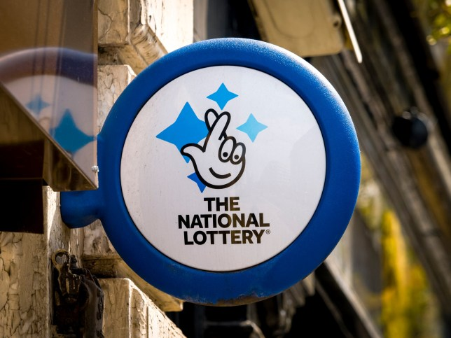 London, England - September 29, 2018: The National Lottery Sign, The National Lottery is operated by Camelot Group since the first draw in November 1994.; Shutterstock ID 1251157147; Purchase Order: -