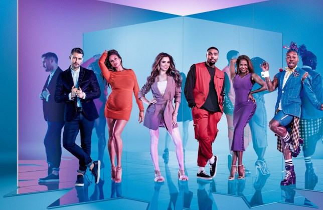 WARNING: Embargoed for publication until 00:00:01 on 27/12/2019 - Programme Name: The Greatest Dancer - TX: n/a - Episode: n/a (No. 1) - Picture Shows: ***EMBARGOED UNTIL 27th DEC 2019*** Matthew Morrison, Alesha Dixon, Cheryl, Jordan Banjo, Oti Mabuse, Todrick Hall - (C) BBC/Thames - Photographer: David Ellis