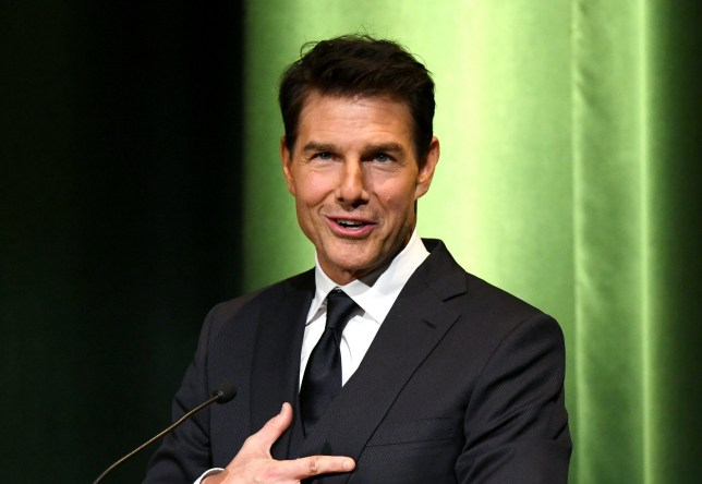 BURBANK, CA - JANUARY 30: (EDITORS NOTE: Retransmission with alternate crop.) Tom Cruise speaks onstage during the 10th Annual Lumiere Awards at Warner Bros. Studios on January 30, 2019 in Burbank. (Photo by Michael Kovac/Getty Images for Advanced Imaging Society)