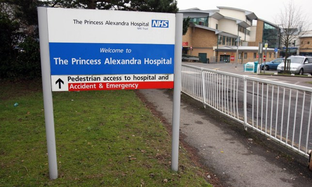 A general view of the Alexandra Hospital in Harlow, Essex.