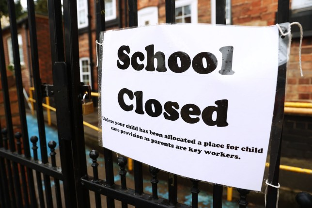 Signage outside a closed West Bridgford Infants School in Nottingham as the UK continues in lockdown to help curb the spread of the coronavirus. PA Photo. Picture date: Monday March 30, 2020. See PA story HEALTH Coronavirus. Photo credit should read: Tim Goode/PA Wire