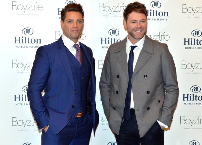 Boyzlife's Keith Duffy and Brian McFadden