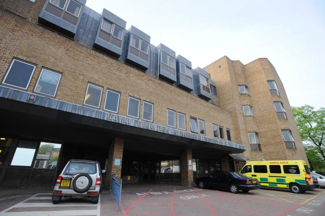 The Royal Brompton and Harefield NHS Trust Hospital, Chelsea, London.