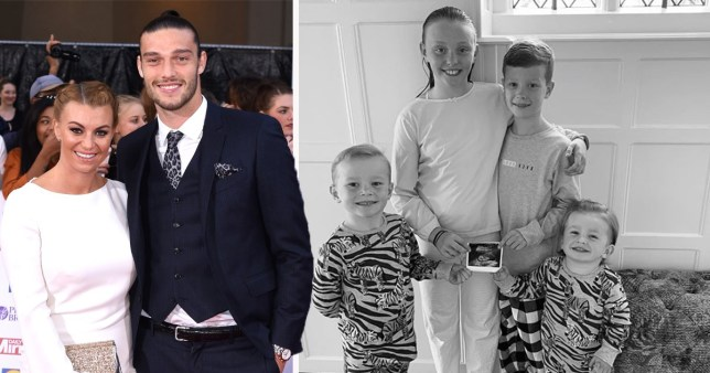 Billi Mucklow and Andy carroll having another baby
