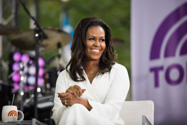 TODAY -- Pictured: Michelle Obama on Thursday, October 11, 2018 -- (Photo by: Nathan Congleton/NBCU Photo Bank/NBCUniversal via Getty Images via Getty Images)
