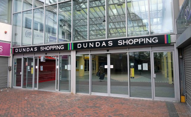 General view of Dundas Arcade in Middlesbrough