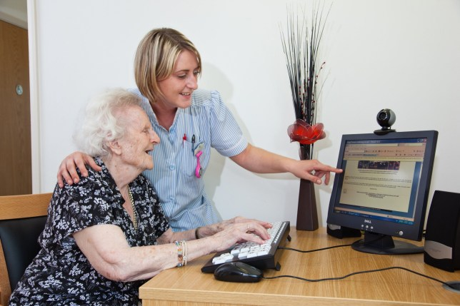 28,000 people sign up to 'adopt a grandparent' and video chat with elderly people in care homes