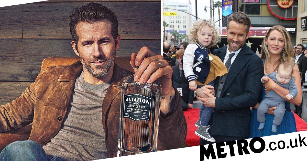 Ryan Reynolds 'mostly drinking' in isolation with Blake Lively and their kids