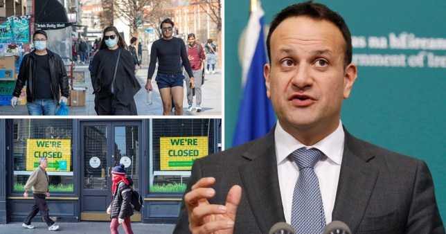 Ireland's figures as country warns it could plunge into recession