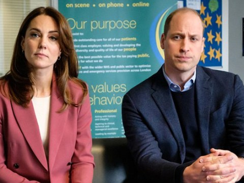 William and Kate share phone call with hospitals praising 'incredible' NHS staff