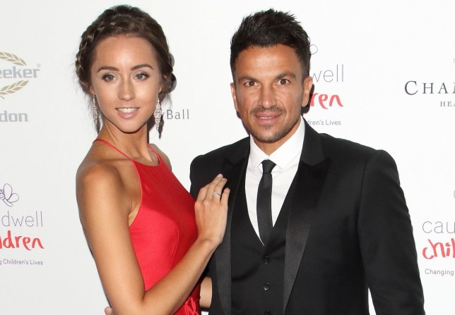 Mandatory Credit: Photo by Keith Mayhew/SOPA Images/REX (10310326ax) Emily Andr?a and Peter Andre Butterfly Ball, Grosvenor House Hotel, London, UK - 13 Jun 2019