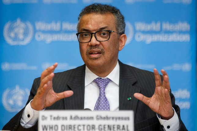 FILE - In this Monday, March 9, 2020 file photo, Tedros Adhanom Ghebreyesus, Director General of the World Health Organization speaks during a news conference on updates regarding on the novel coronavirus COVID-19, at the WHO headquarters in Geneva, Switzerland. After the new coronavirus erupted in China, the World Health Organization sprang into action: It declared an international health emergency, rushed a team to the epicenter in Wuhan and urged other countries to get ready and drum up funding for the response. Many analysts have praised the initial response by the world???s go-to agency on health matters. But now, governments have started to brush aside, ignore and criticize WHO recommendations on issues of public policy, like whether cross-border travel should be restricted or whether the public should wear masks. (Salvatore Di Nolfi/Keystone via AP, file)