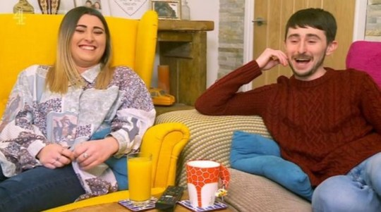 Gogglebox's Sophie and Pete