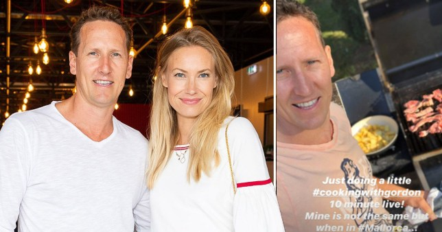Strictly's Brendan Cole and wife Zoe stuck in Spanish holiday home during coronavirus pandemic (Picture: Rex, @brendancoleinsta)