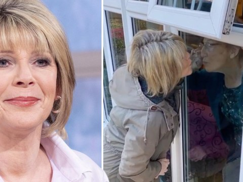 Ruth Langsford shares heartbreaking daily routine of waving at mum through window