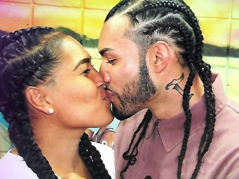 Man who fell in love with transgender prison mate marries her after she's released