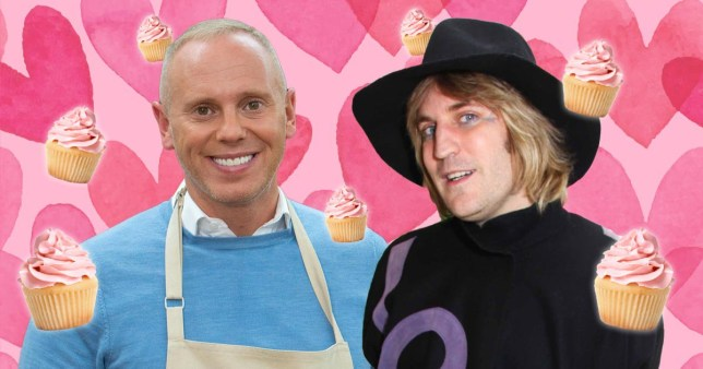 Judge Rinder got a crush on Noel Fielding while filming Bake Off and we can relate pics: Channel 4/Getty