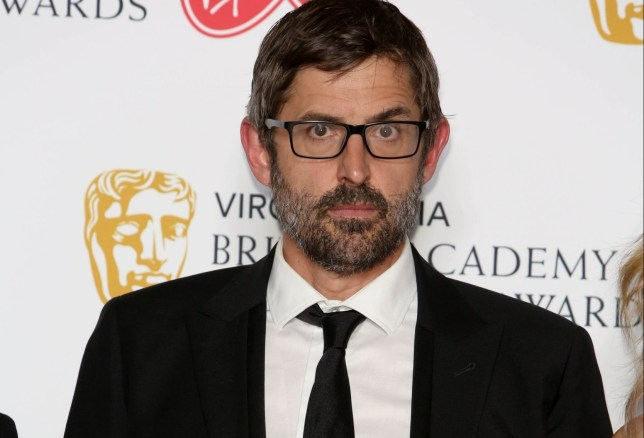 Louis Theroux wins the Factual Series Award at the Virgin Media British Academy Television Awards