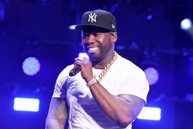 50 Cent Jackson performs onstage at STARZ Madison Square Garden