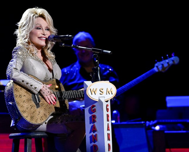 DOLLY PARTON: 50 YEARS AT THE OPRY (Photo by: Katherine Bomboy/NBC/NBCU Photo Bank via Getty Images)