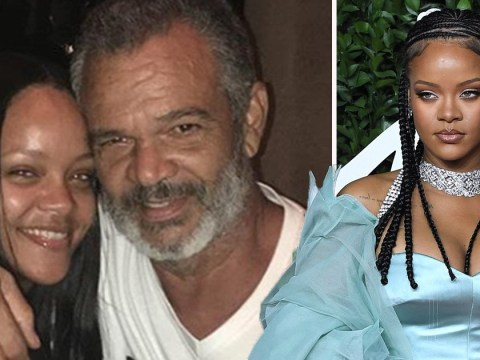 Rihanna helped save dad's life with his own ventilator to battle coronavirus