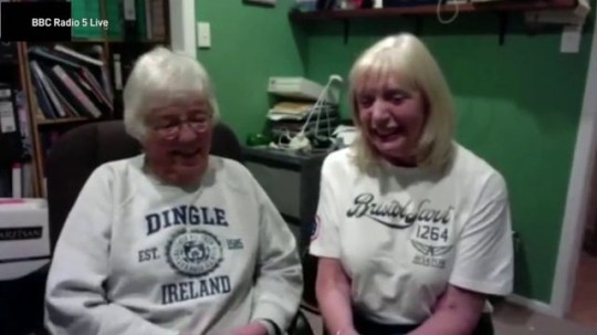 Long-lost sisters end up spending lockdown together BBC Radio 5 Live
